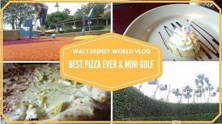 Walt Disney World Vacation 2015 Rainy day at Epcot & Fantasia Mini golf