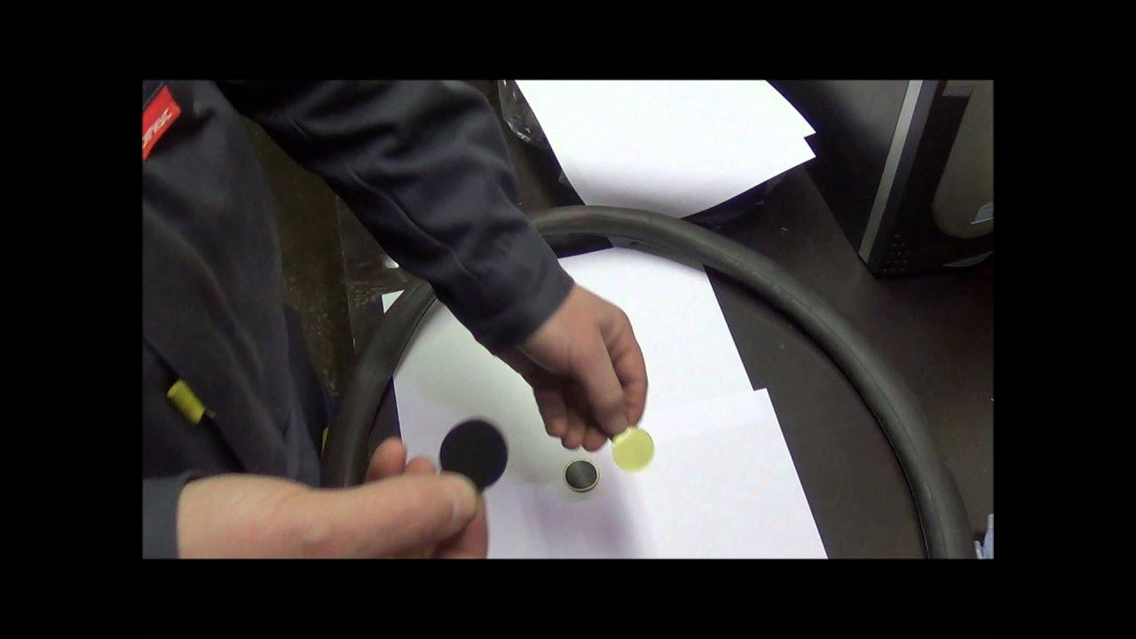 Как сделать заплатку на камеру от колеса