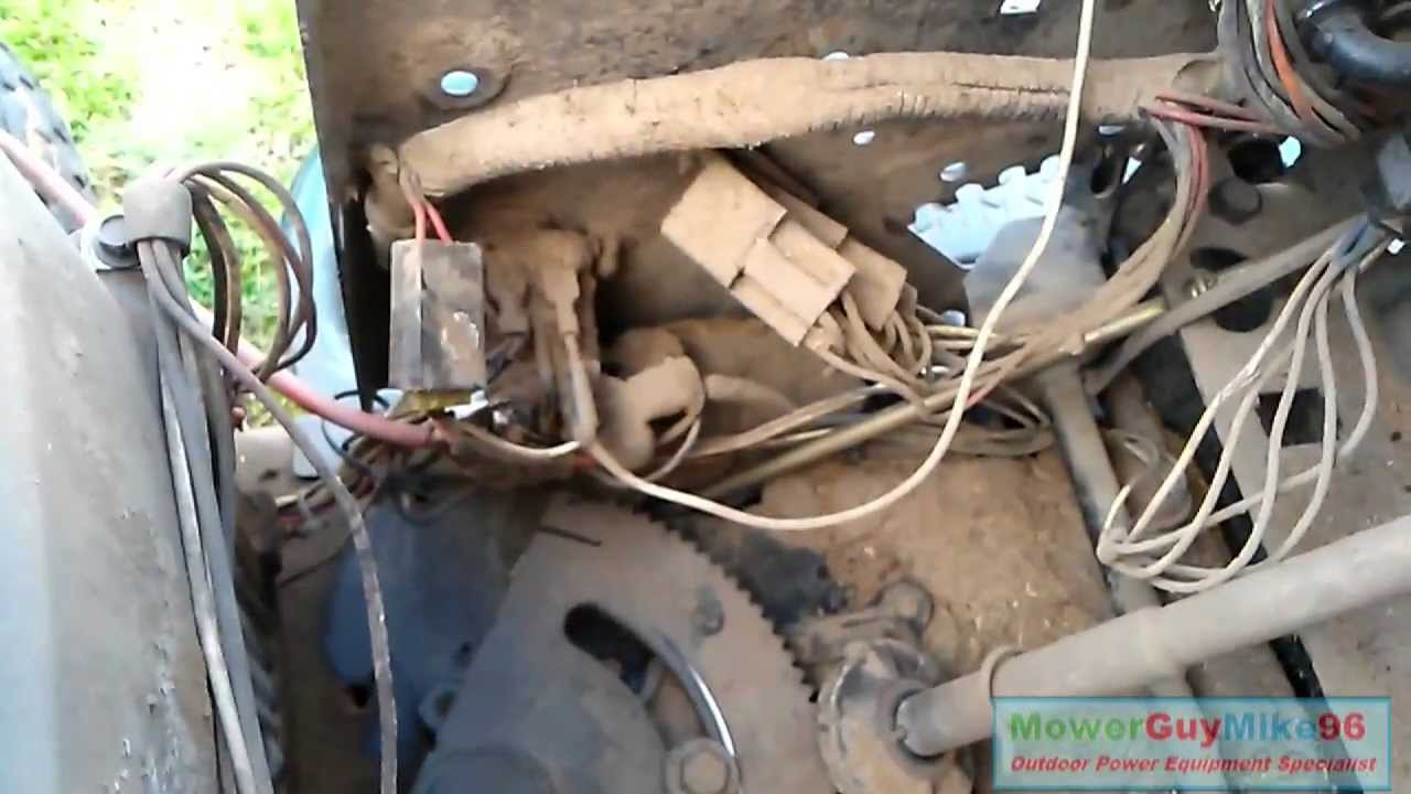 Murray Wiring Diagram Another Blog About Lawn Tractor Ope Repair 2001 Craftsman Lt1000 Solenoid Replacement Ignition Mower