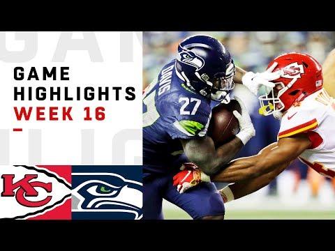 Chiefs vs Seahawks Week 16 Highlights  NFL 2018