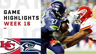 Chiefs vs. Seahawks Week 16 Highlights | NFL 2018