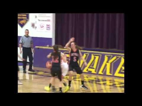 #3 Cokeville at #4 Little Snake River - Girls Basketball 1/24/14