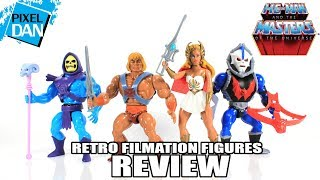 Masters of the Universe Retro Filmation Figures Wave 1 Review