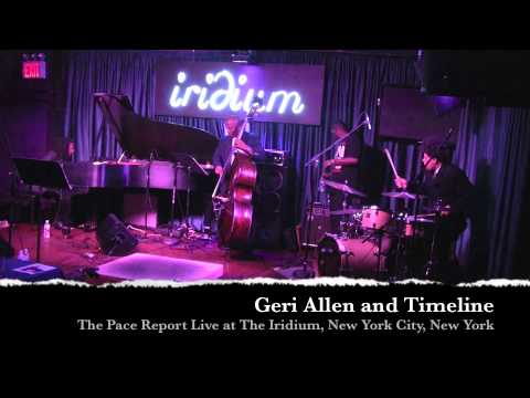 Jazz Music, Jazz Piano - Geri Allen & Timeline Live - Interview Music Videos