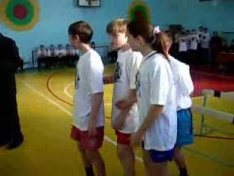Военно-спортивная эстафета, 8 Б клас, 2009 год