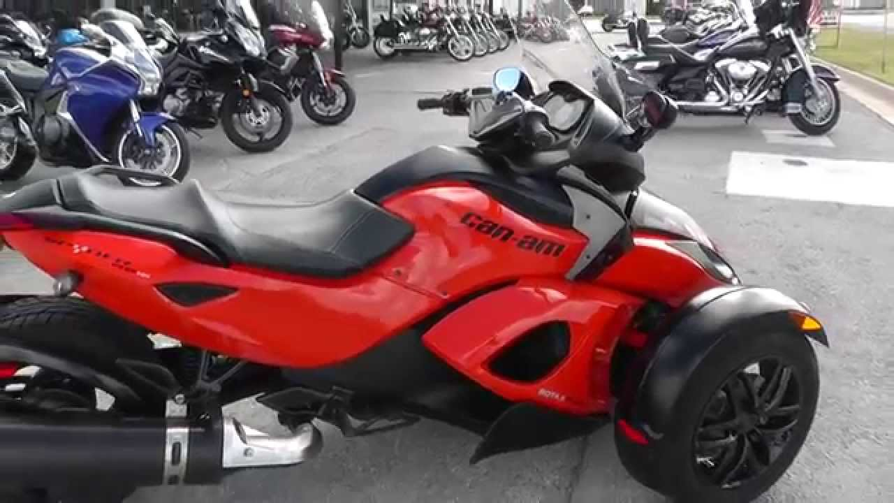 used 2014 can am spyder for autos post. Black Bedroom Furniture Sets. Home Design Ideas