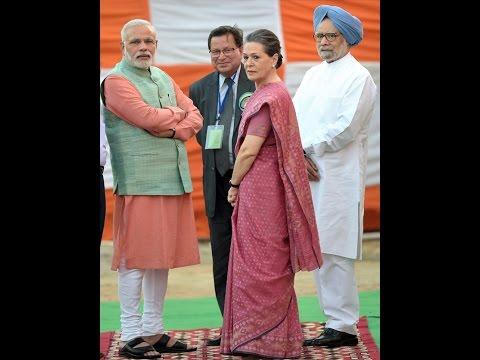 Video- Dasara Celebration with PM  Narendra Modi, Manmohan Singh,AND Soniya Gandhi