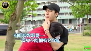 Jackson Wang and Zhou Zhennan (Let me go of my baby Ep12-CUT)