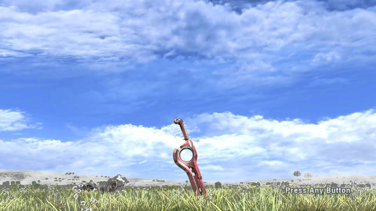 1080p xenoblade chronicles title screen youtube - Title wallpaper ...
