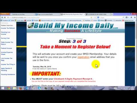 Cómo Comprar Build My Income Daily TESTIMONIO