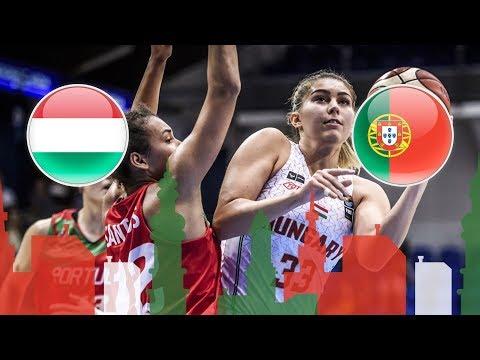 Hungary v Portugal - Full Game - Class. 5-8 - FIBA U20 Women's European Championship 2018