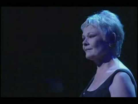 Dame Judi Dench singing Send in the Clowns