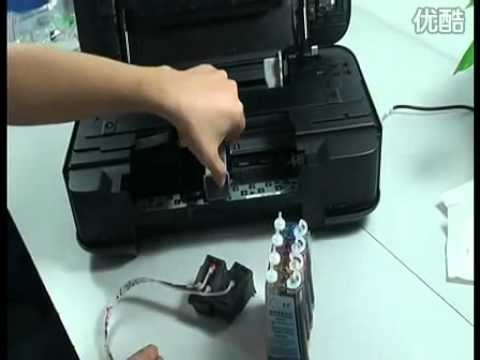 Canon Ip2700 Ciss Diy Installation Instruction Youtube