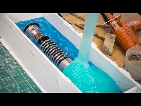How to Mold and Cast a Lightsaber!