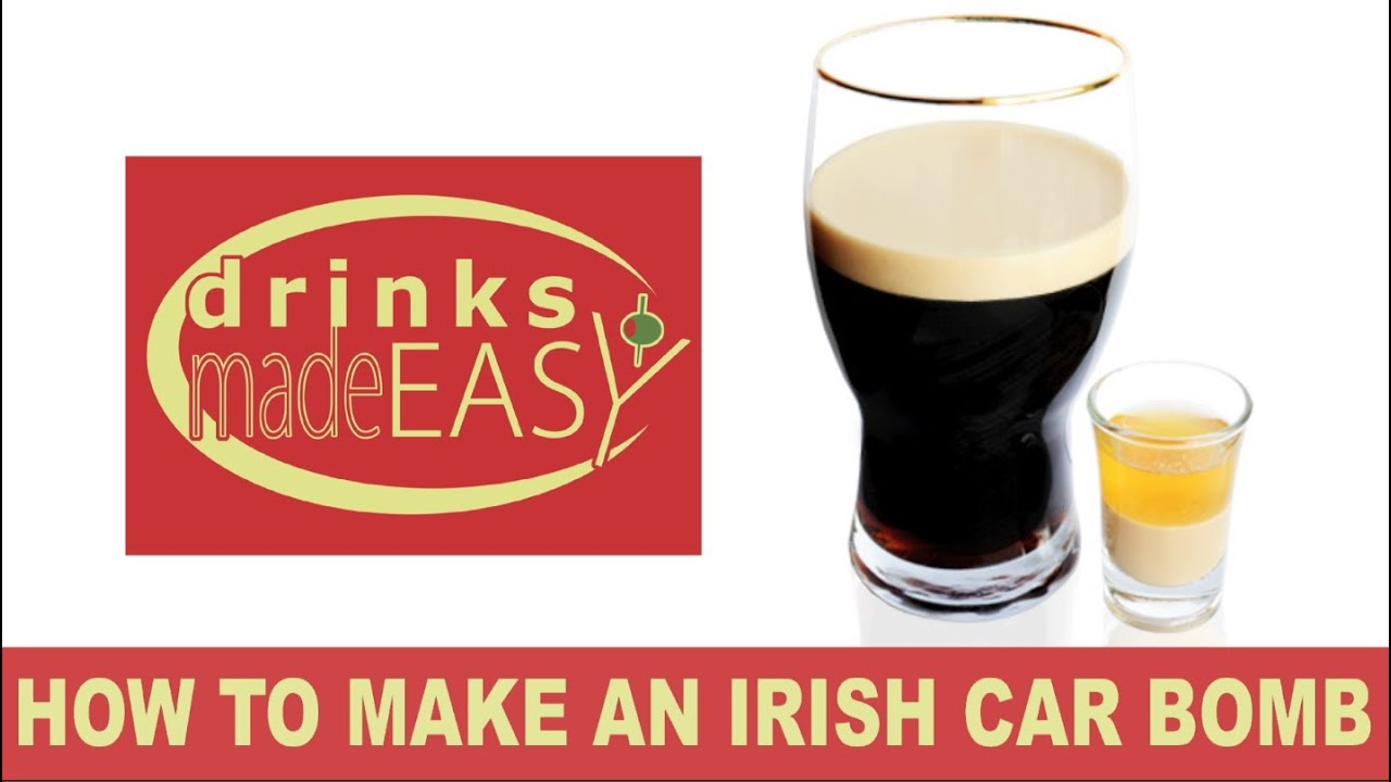 How to make a st patrick 39 s day irish car bomb beer for Easy to make drinks