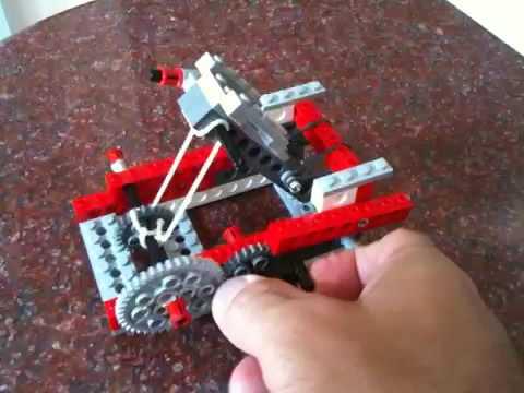 Как можно сделать катапульту из лего - R-pro