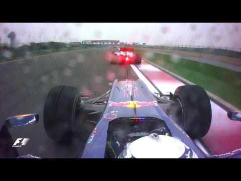 Vettel vs Hamilton, 2010 Chinese Grand Prix | F1 Classic Onboard