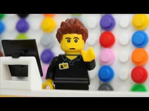 Видео как снимать Лего