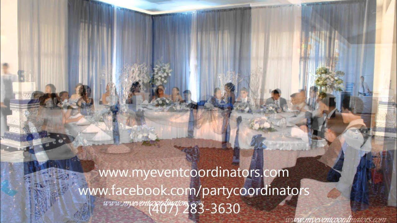 Winter Wonderland Quinceañera Decoration By: Event ...