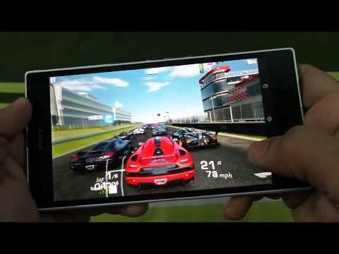 SONY XPERIA Z ULTRA REAL RACING 3 GAMEPLAY
