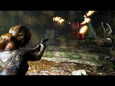 SHADOW OF THE TOMB RAIDER Gameplay Demo (E3 2018)