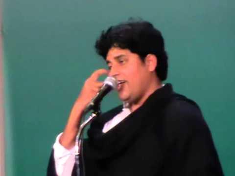 Imran Pratapgarhi  Dubai Mushaira .30 01 2014..mat Jodo Atankwad Ka Naam.... video