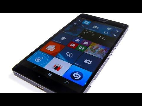 Microsoft Lumia 950 XL - распаковка и первое впечатление
