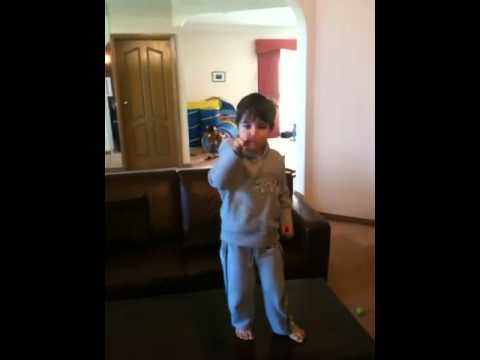 My Kids dancing to Beyonce's Crazy in love thumbnail