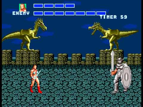 Golden Axe - The Duel - User video