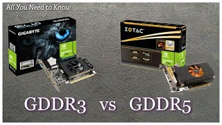 [Hindi] GDDR3 vs GDDR5 | How to buy best Graphic Card | All You Need to Know