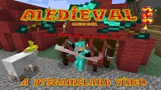 Midieval Modpack Ep 2 The Village is Ours?