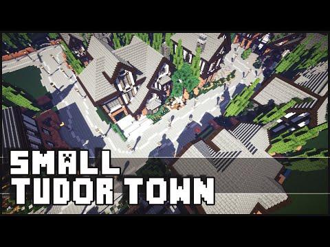 Minecraft - Small Tudor Town