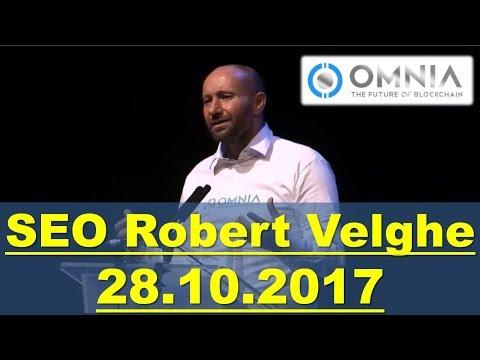 OMNIA - Встреча с CEO Robert Velghe. Ответы на вопросы - 28.10.2017