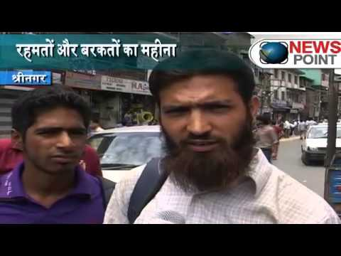 Ramadan begins in Kashmir
