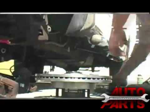 2003 F-150 Replacing Front Brakes and Rotors Part 2