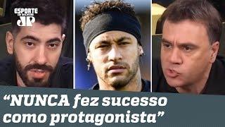 """""""Neymar NUNCA fez sucesso como protagonista!"""" Debate PEGA FOGO!"""