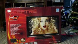 40 Inch Flatscreen T.V Unboxing 1080p