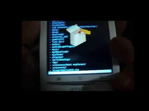 Como Rootear e Instalar Android 2.3.7 en SE Xperia x8.x10 mini etc
