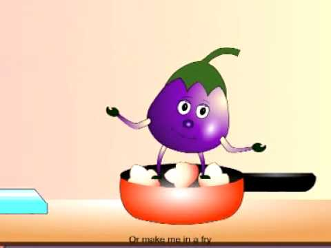 I Am A Brinjal-fruit And Vegetable Rhymes For Kids-rhymes For Lkg-rhymes For Ukg-play School Rhymes video