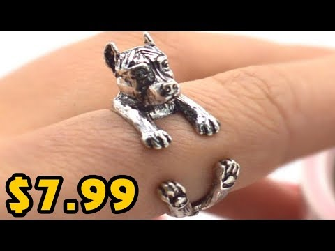 🔥THE PITBULL LOVERS RING  IN JUST $7.99🔥
