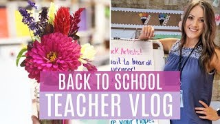TEACHER VLOG   LIFE OF AN ELEMENTARY TEACHER   Back to School   CreativeScribbles