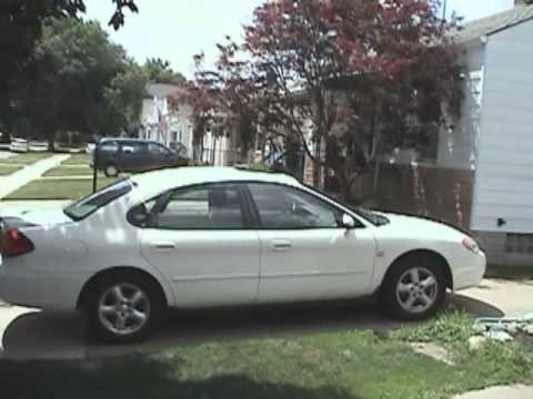 2003 Ford Taurus SES Tour and Start Up. July 5. 2009