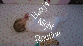 Journey Of A Newborn- Episode 7, Baby's Night Routine! (An Original Reborn Baby Roleplay Series)