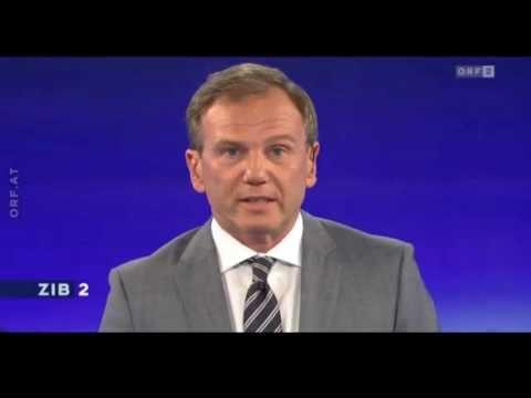 ZIB 2 - Austria News - Moderator against the heat