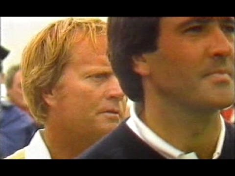 Nicklaus V Ballesteros - 'Toyota Challenge of Champions' 1986, Ireland.