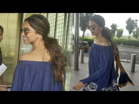 Deepika Padukone Carries Effortless Yet Sassy Look At Airport!