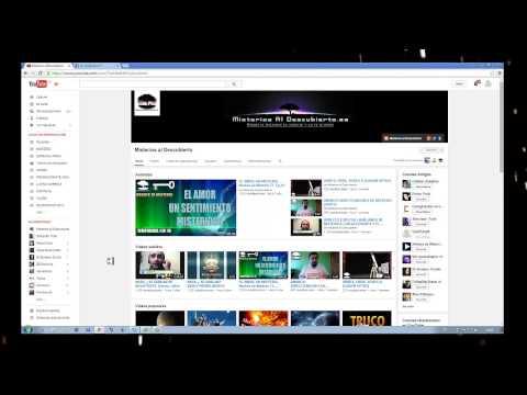Tutorial - Como recibir notificaciones de canales preferidos.