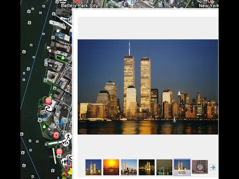 New York City From Earth View, New York City From Space, New York City Travel Guide