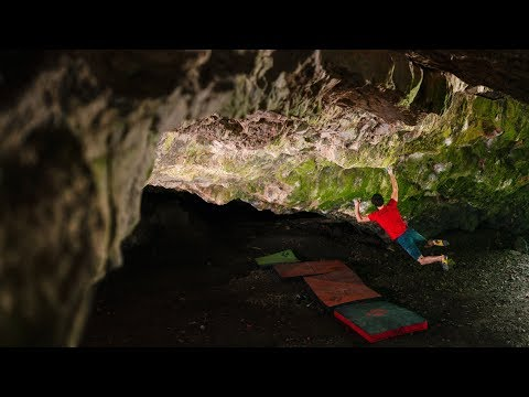 Road to Tokyo #36: Bouldering in a Cave / Ghost Rider 8C