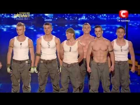 Україна має талант-5.Команда «SLS»  - WorkOut [4 полуфинал][11.05.13]
